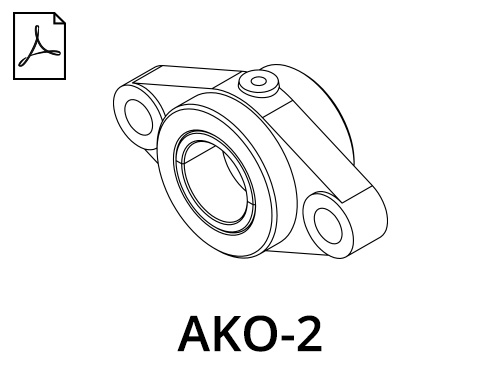 AKO-2 Light Flange Cases