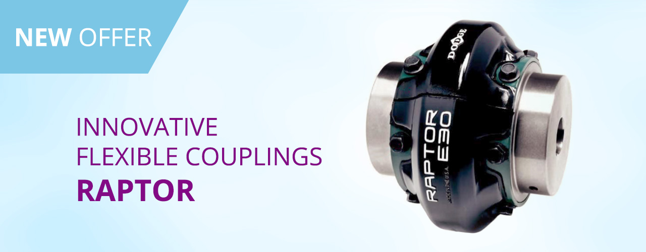 Innovative flexible couplings RAPTOR